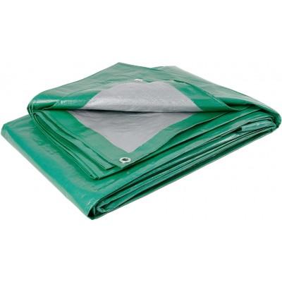 Тент из полиэтиленовой ткани зеленый ТЗ-120 4м*6м