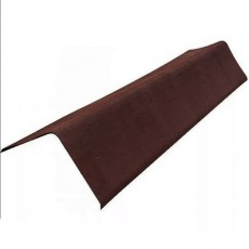 Коньковый элемент ондулин коричневый 1м.