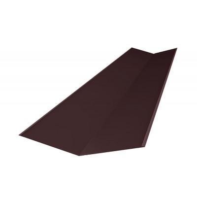 Ендова ондулин коричневая 1м.