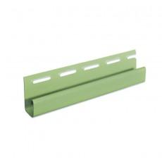 "Планка J-trim ""VOX"" зеленый 3,05 м"