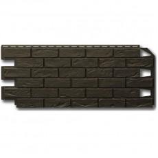 Фасадная панель VILO Brick DARK BROWN 1,00х0,42м