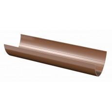 Желоб водосточный ПВХ ТН, 1,5м, коричневый