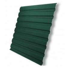 Профнастил МП-20, RAL6005 зеленый мох  0,4х1100х2000мм