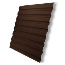 Профнастил  С- 8   RAL 8017 шоколад 0,35х1150х1500мм