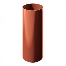 Труба водосточная ТН ПВХ, красный 3м
