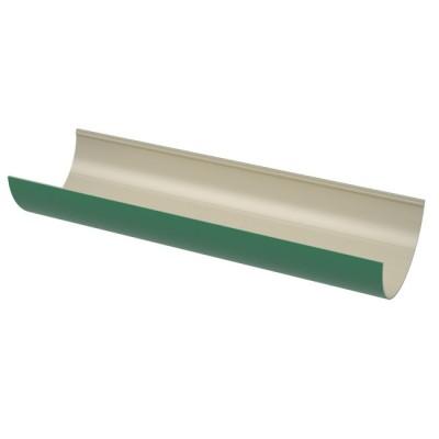 Желоб водосточный зелёный ТН ПВХ 3м