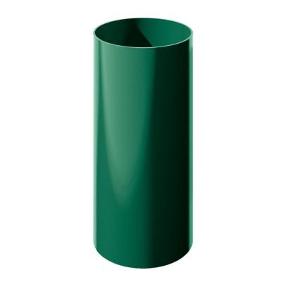 Труба водосточная ТН ПВХ, зеленый 3м
