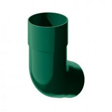 Колено трубы водосточной 135° ТН ПВХ, зелёный
