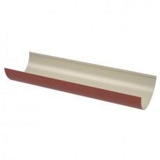 Желоб водосточный красный ТН ПВХ 3м