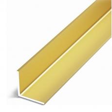 Алюминиевый уголок 15*10*2 (1,0 м) золото