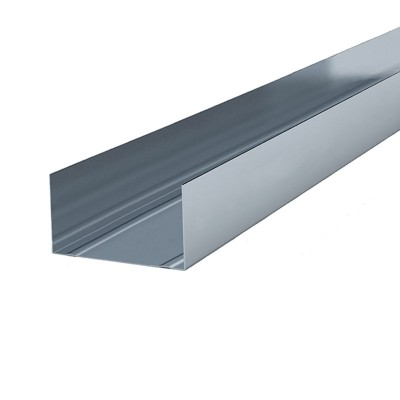 Профиль перегородочный направляющий ПН 50/40х0,4мм, L=3,0м (упак-18шт)