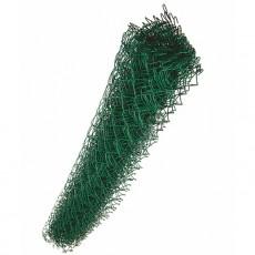 "Сетка плетеная ""рабица"" 50*50*2,5 мм (рулон 1,2*10 м) зеленый"