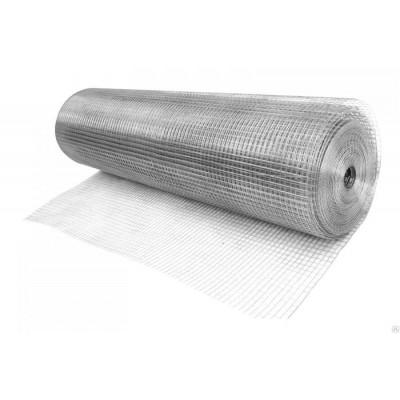 Сетка сварная оцинкованная 50х50х1,6мм (рулон 1,5х50м)