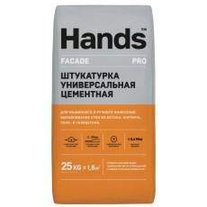 Штукатурка цементная Hands Facade PRO 25 кг (5-20 мм)