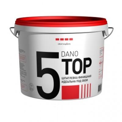 "Шпаклевка-паста финишная ""Danogips"" DANO TOP 5 (ведро  3,5л, 5,6кг)"