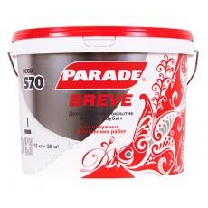 Декоративное покрытие с эффектом мелкая шуба Parade Deco S70 Белый 15 кг