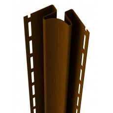 Внутренний угол Ю-Пласт, коричневый дл. 3,05м (1 уп=5шт.)