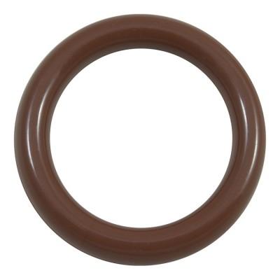 Кольцо пластик Д28 Вишня