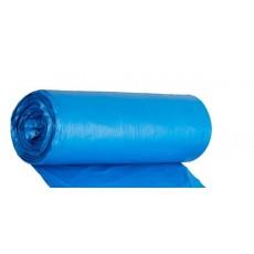 Пакеты для мусора КотКомфорт Усиленные 60л 20шт 14мкм (ПНД синий)