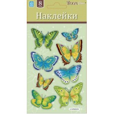 05010 Бабочки изумрудные мини Стикер LCHPA