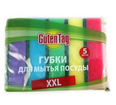 Губка для посуды Guten Tag Универсальные XXL5шт