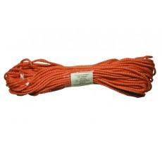 Шнур хозяйственный усиленный цветной 4мм по 20м.