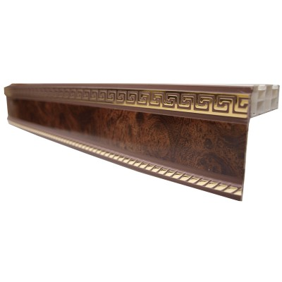 Карниз ПДК-1 (3-х шторный) - 1,5 м коричневый
