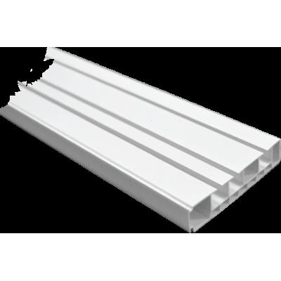 Шина потолочная 2,4 м с комплектом  3-х рядная
