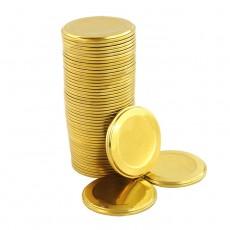 Крышка металлическая для консервирования СКО (УРАЛСКО) 50 шт