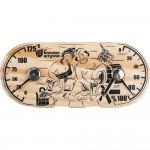 """Термометр с гигрометром Банная станция """"В парной"""" 25*11 см для бани и сауны """"Банные штучки"""""""