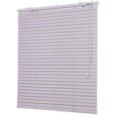 150x160 см Жалюзи горизонтальные алюминиевые белые