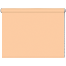 68x160 Рулонная штора персик