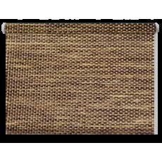 52x170 Рулонная штора Кантри (соломка)