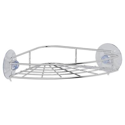 """Полка-решетка для ванной угловая на присосках FORA """"ATLANT"""" арт.A035"""