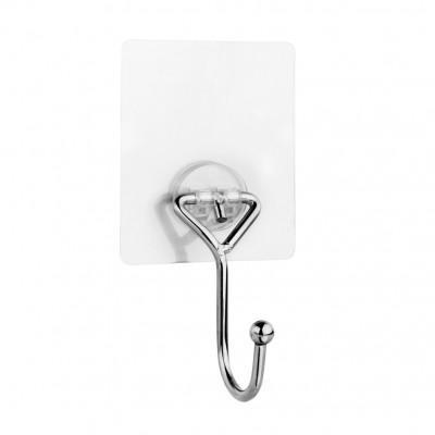 """Крючок для ванной одинарный на силиконовом креплении """"Kleber lite"""" KLE-LT028"""