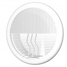 12,5РПКФ, Решетка круглая D164 приточно-вытяжная АБС с фланцем D125