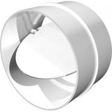12,5 СКПО соединитель канала с обратным клапаном пластик D125