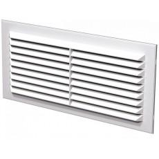 Решетка вентиляционная вытяжная 1708С АБС 171х81 белая